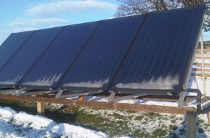14kw heat pump and 5 panel solar